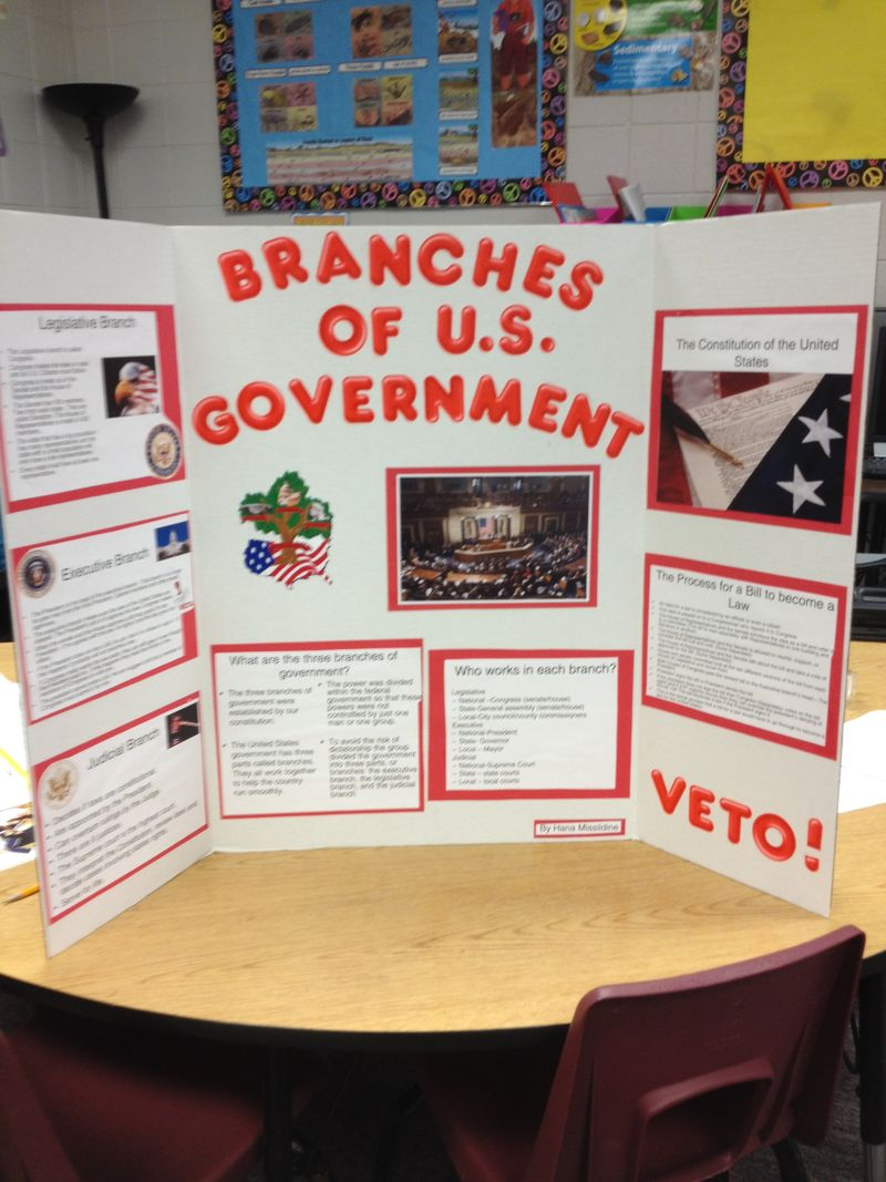 The Three Types Of Totalitarian Systems: The Three Branches Of Government Project